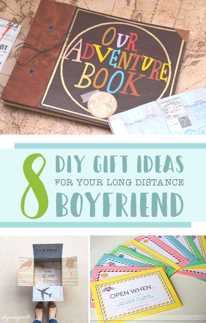 Long Distance Love Quotes 8 DIY Gift Ideas For Your