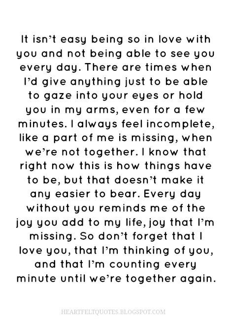 Long Distance Quotes 29 I Love You More Than Anything And I Cant