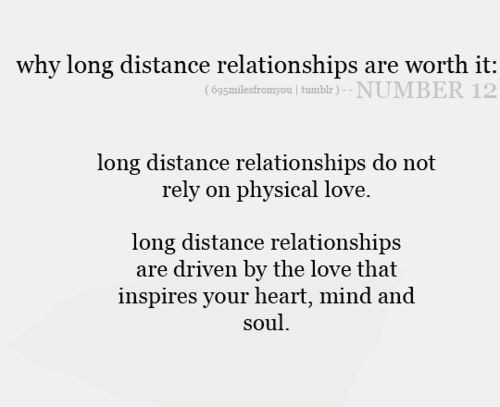 How to show love in a long distance relationship