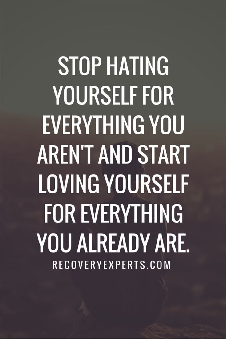 Life Inspirational Quotes Quotes About Life  Inspirational Quotes Stop Hating Yourself For