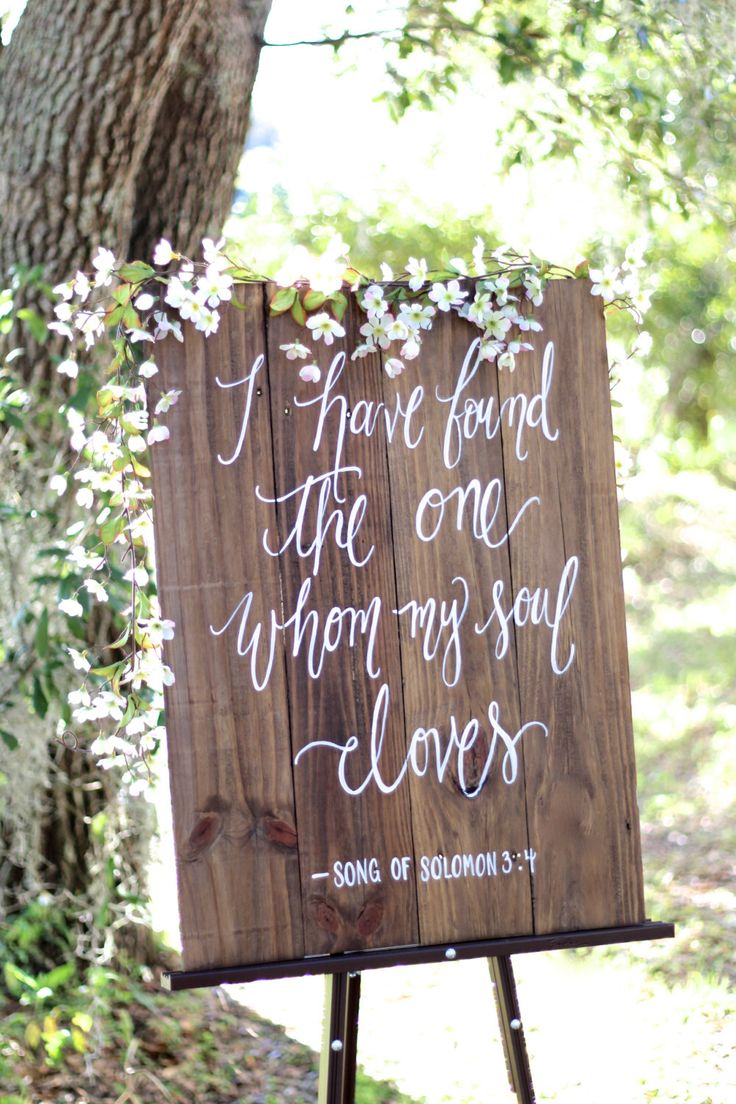Quotes About Soulmates : Rustic Wooden Wedding Sign // I have ...