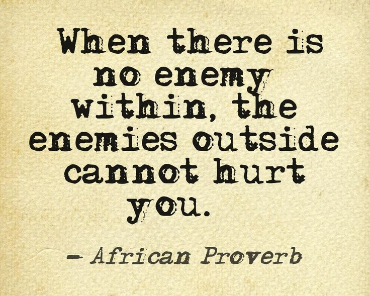 Best Quotes About Wisdom African Quote Inner Demons Quotess Inspiration African Quotes
