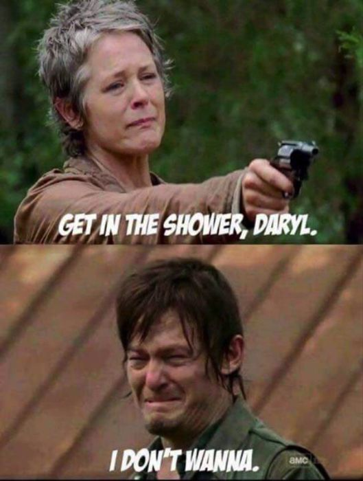 Best Funny Quotes 25 Funny Walking Dead Memes Quotess