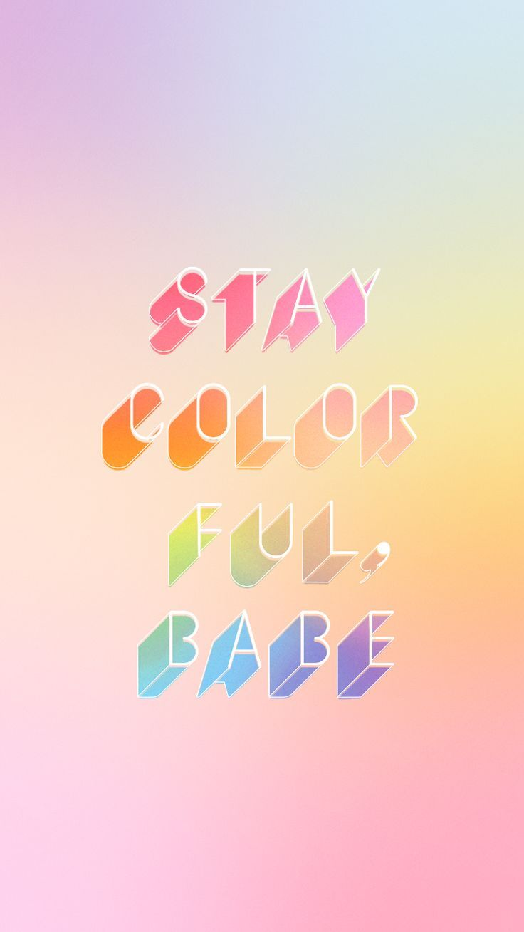 Motivational Quotes Of The Day Motivational Quotes  Stay Colorful Babe  Ban.do…  Quotess