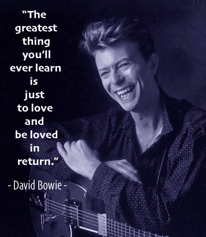 Celebrity Quotes : Rest in Peace (((David Bowie ...