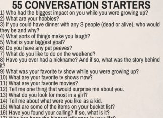 Long distance conversation starters