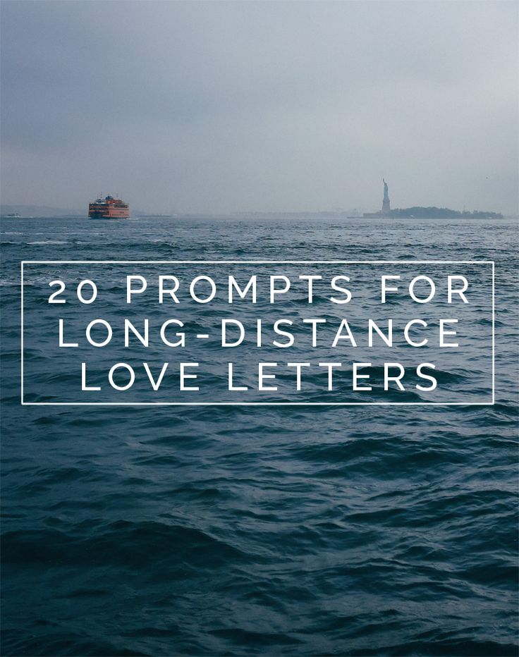 writing a letter to long distance girlfriend quotes