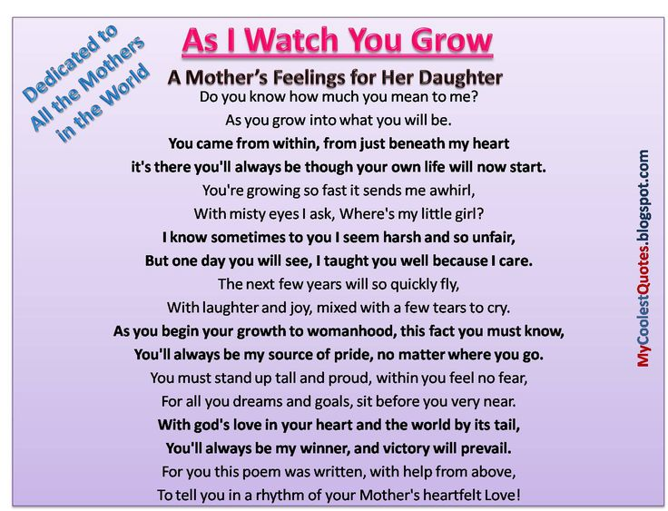 Love Quotes My Daughter Cool Love Quotes For Her Because I Love My Daughter  Mother's