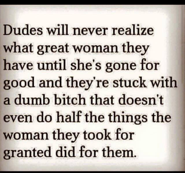 took it for granted