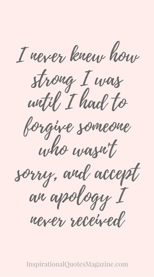 Love And Forgiveness Quotes Love Quotes For Her Inspirational Quote About Strength