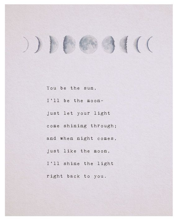 Light Quote Cool Love Quotes For Her Love Quote You Be The Sun Ill Be The Moon