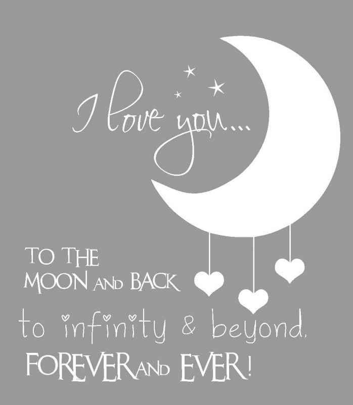 Love Quotes For Him : i love you to the moon and back ... Google Love Quotes For Him