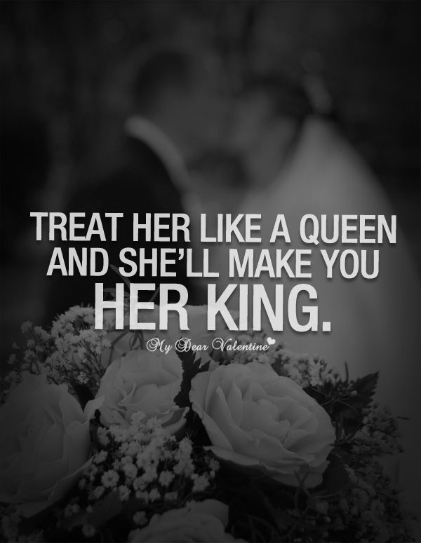 King And Queen Love Quotes Interesting Love Quotes For Him  She'll Make You Her King ❤…  Quotess
