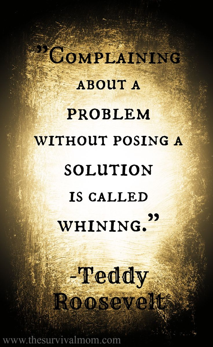 """Problem Quotes Quotes About Life  """" Complaining About A Problem Without Posing A"""