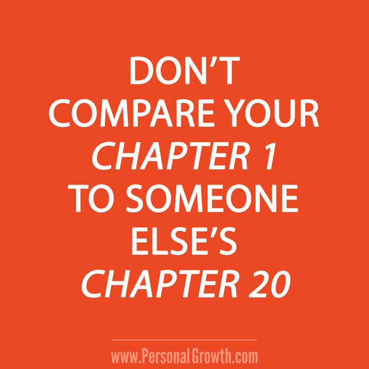 Compare Life Quotes Adorable Quotes About Life  Don't Compare Your Chapter 1 To Someone Else's