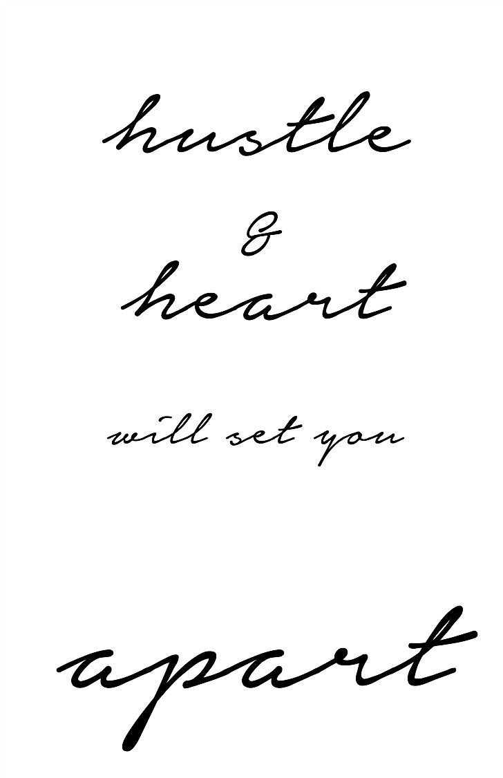 Life Insurance Sayings Quotes Quotes About Life  Hustle And Heart Will Set You Apart
