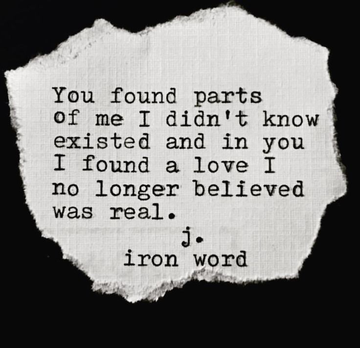 Love Found Me Quotes: Quotes About Love : You Found Parts Of Me I Didn't Know