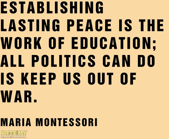 Quotes About Wisdom Establishing Lasting Peace Is The Work Of