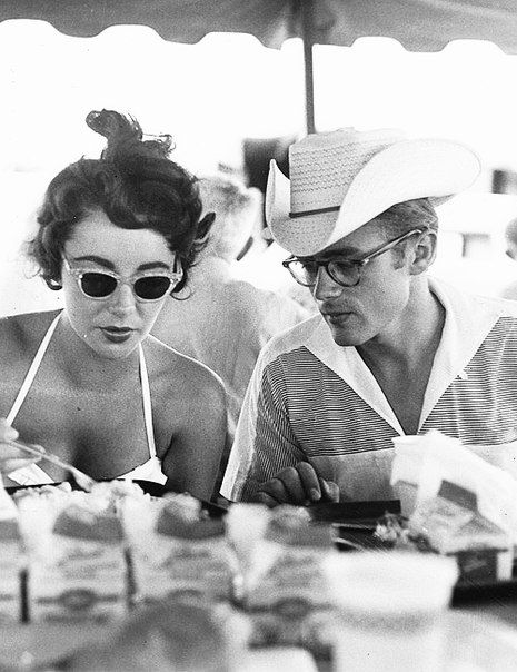 Celebrity Quotes : Elizabeth Taylor and James Dean on the ...