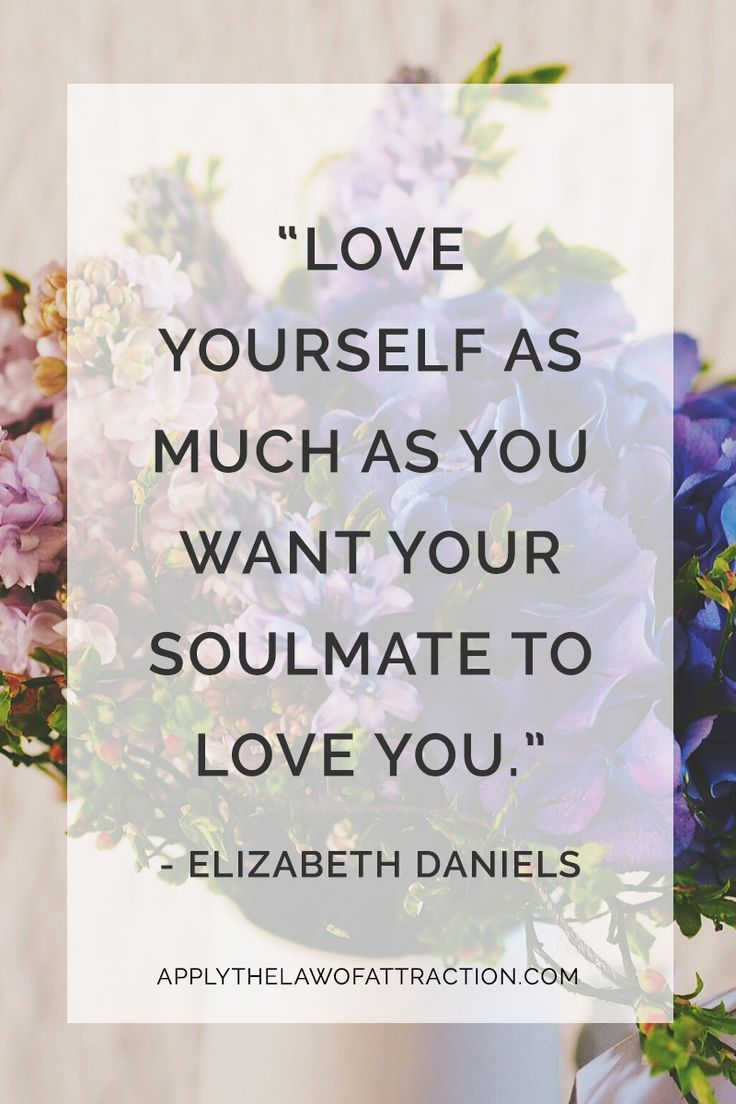 Loving Yourself Quote Quotes About Missing  Manifesting Your Soulmate Beginsloving