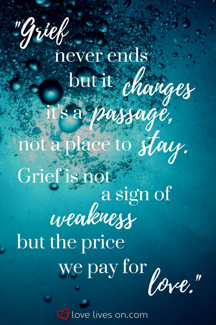 Grief Quote Quotes About Missing  A Grief Quote That Perfectly Captures The