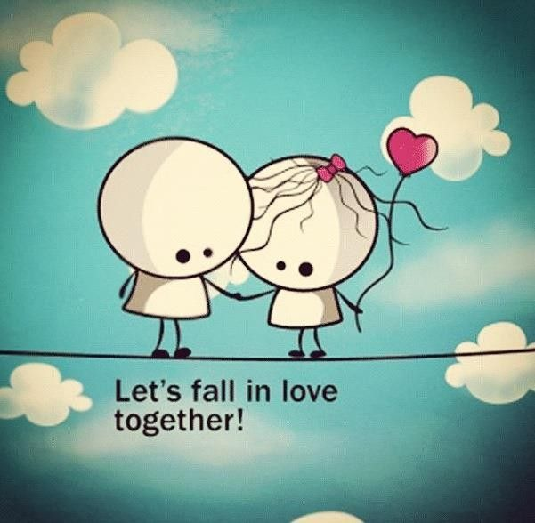 Together Love Quotes Best Love Quotes For Her Let's Fall In Love Together…  Quotess