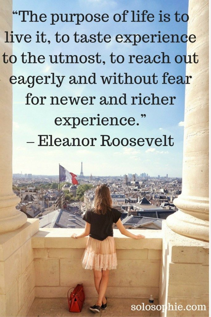 Quotes About Life : U201cThe Purpose Of Life It O Live It, To Taste Experience  To The Utmost, To Reach Ou2026