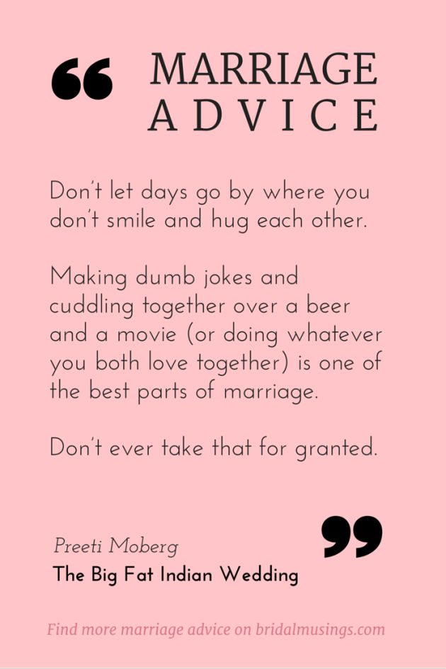 Love Marriage Quotes Beauteous Quotes About Love  Marriage Advice From Preeti Moberg Editor Of
