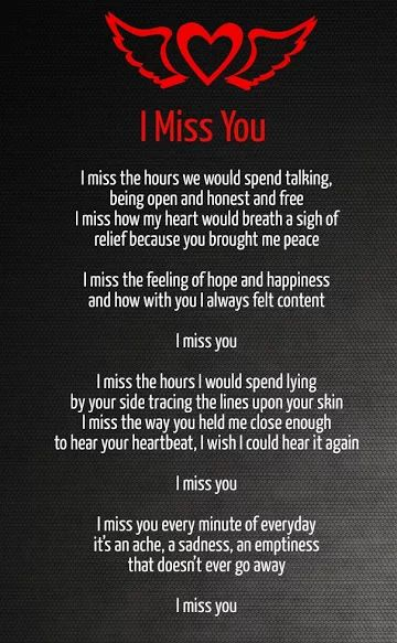 Free Love Poems And Quotes Adorable Quotes About Missing  Missing You Love Poems  Quotess  Bringing