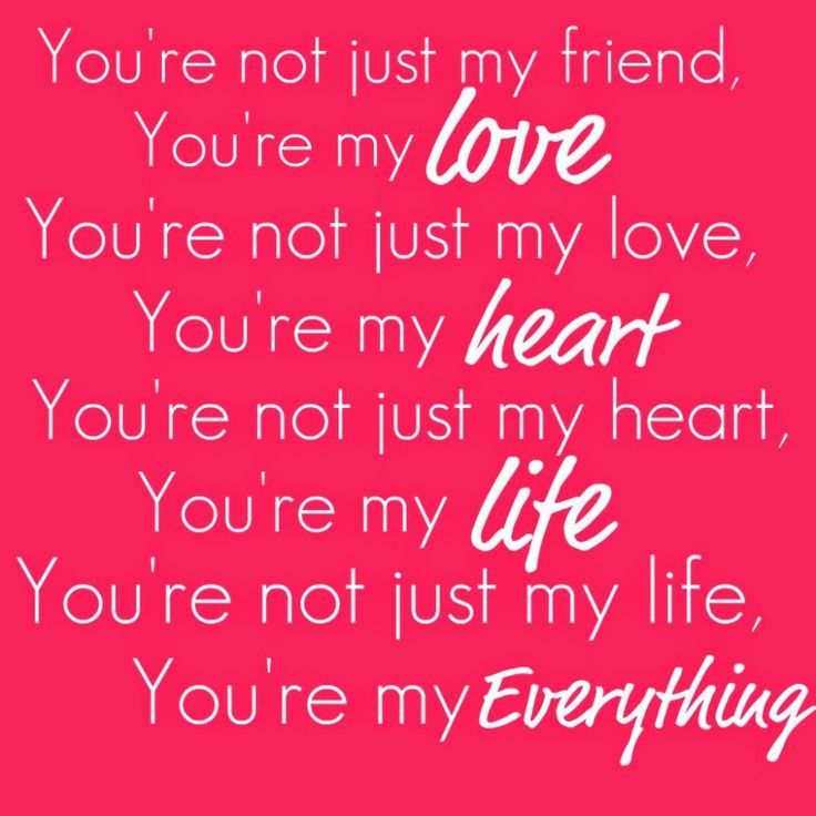 Love Quotes For My Love Amusing Love Quotes For Her You Are My Love My Heart My Life  My