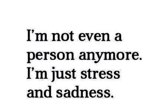 "Life Stress Quotes Adorable Quotes About Missing  Millemii ""I Am So Stressed And Sad"