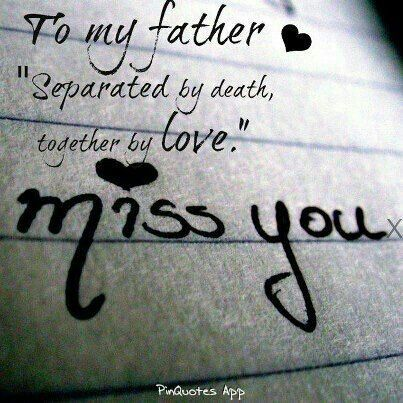 Quotes About Missing Missing Dad In Heaven Images Via Ricki