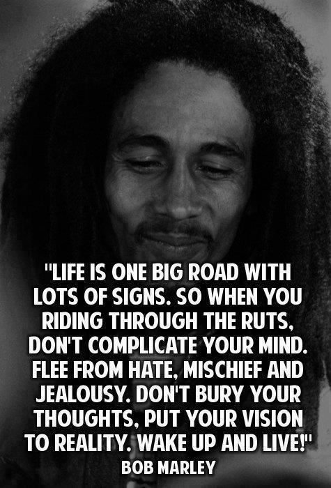 Wise Sayings And Quotes About Life Captivating Celebrity Quotes  Famous Wise Quotes Sayings Life Bob Marley