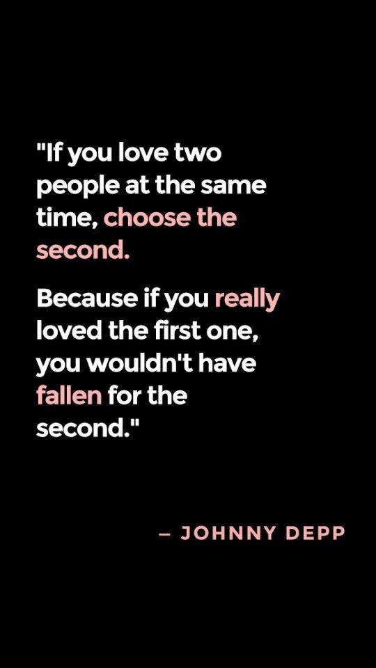 Falling In Love With Two People Quotes