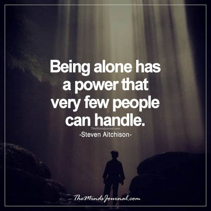 Quotes On Power Stunning Quotes About Life  Being Alone Has A Power   Themindsjournal.c