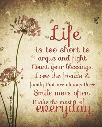 Quotes About Life Being Short Prepossessing Quotes About Life  Life Is A Blessing …  Quotess  Bringing