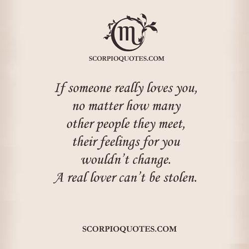 Scorpio Love Quotes