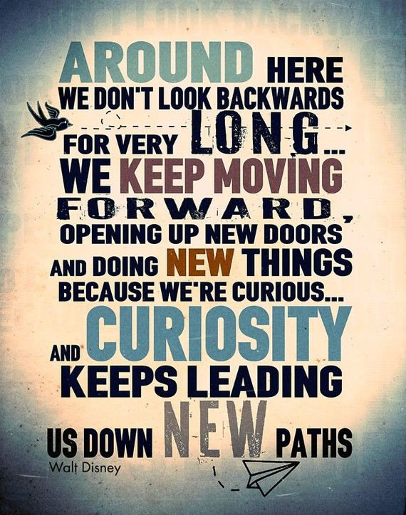 quotes about wisdom don t look back move forward quotess