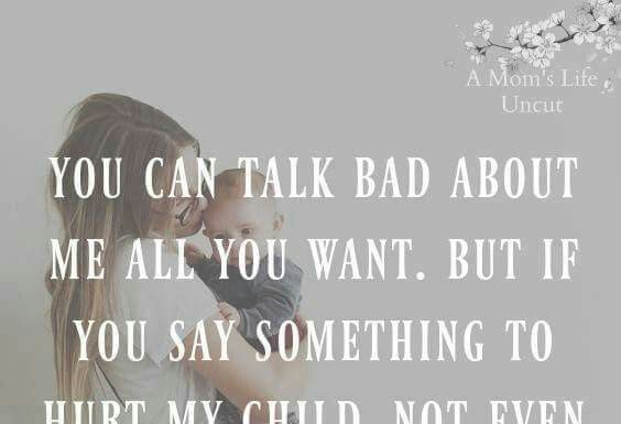 Elegant Dont Mess With My Kids Quotes Paulcong