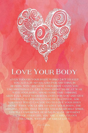 Strength Quotes : Love Your Body by CarlyMarie... - Quotess ...