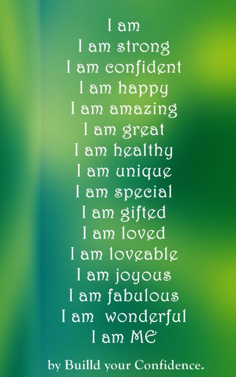 Strength Quotes Read Aloud I Am Strongi Am Confidenti Am