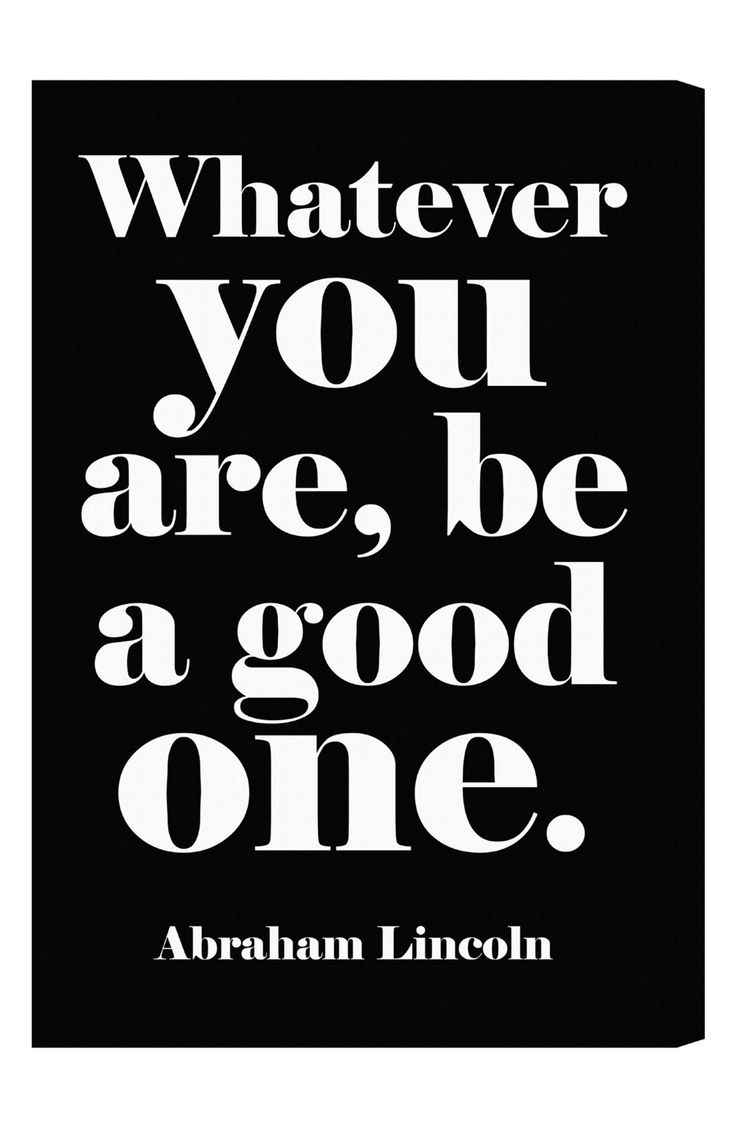 whatever you are be the best