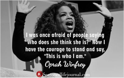 Celebrity Quotes : Oprah Winfrey quote on personal ...