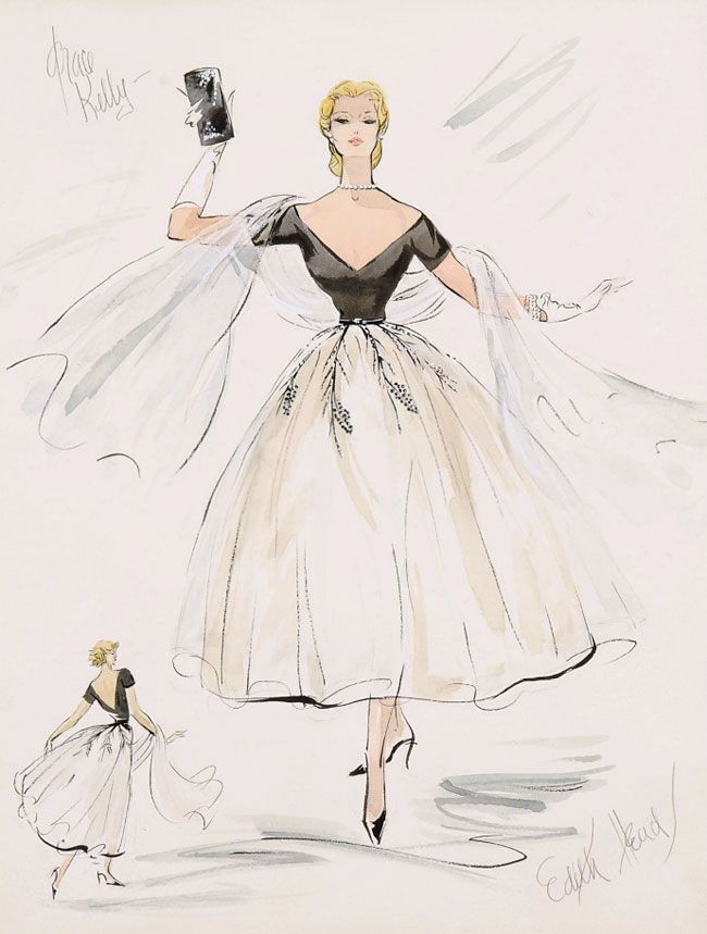 Inspirational Work Quotes : The iconic evening gown Edith Head ...