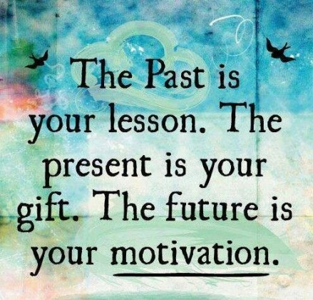 Lesson In Life Quote Glamorous Life Quote  The Past Is Your Lessonthe Present Is Your Gift