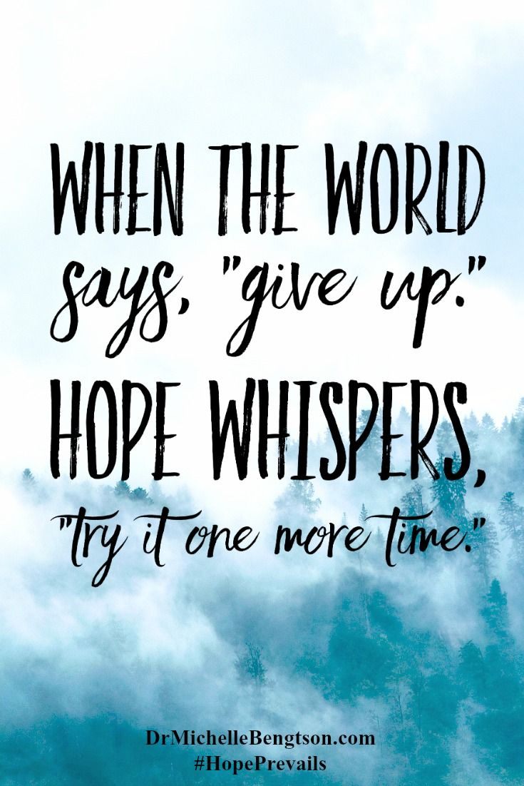 Inspirational Quote Generator Quotes About Strength  Don't Give Upthere Is Always Hope