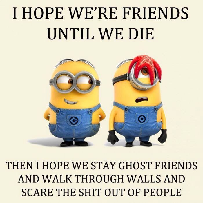 Quotes Of The Day U2013 Description. Top 30 Funny Minions Friendship Quotes