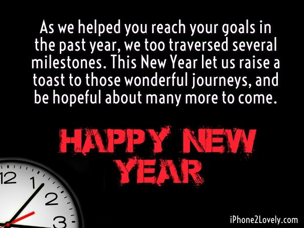 Happy new year 2018 quotes happy new year to clients quotess happy new year m4hsunfo