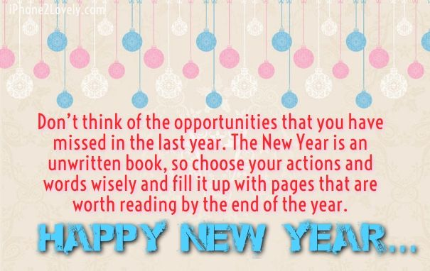 Happy New Year 2018 Quotes : Inspirational New Year Wishes - Quotess ...