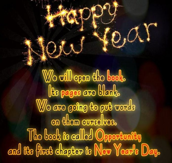 Happy New Year 2018 Quotes : New Year Inspirational Messages ...